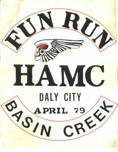 HAMC Fun Run Basin Creek 1979