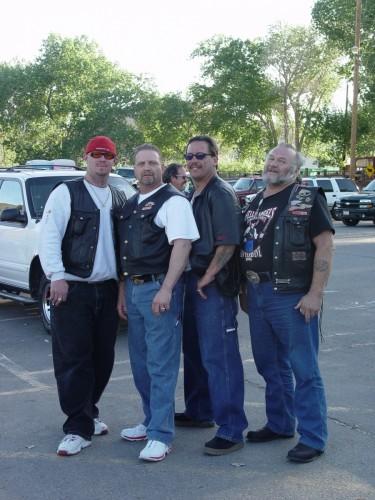 Ray Ray, Chuck, Robert, John B.
