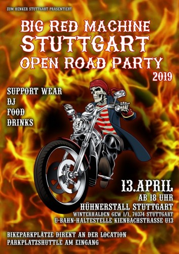 2019-04-13-open road Stuttgart